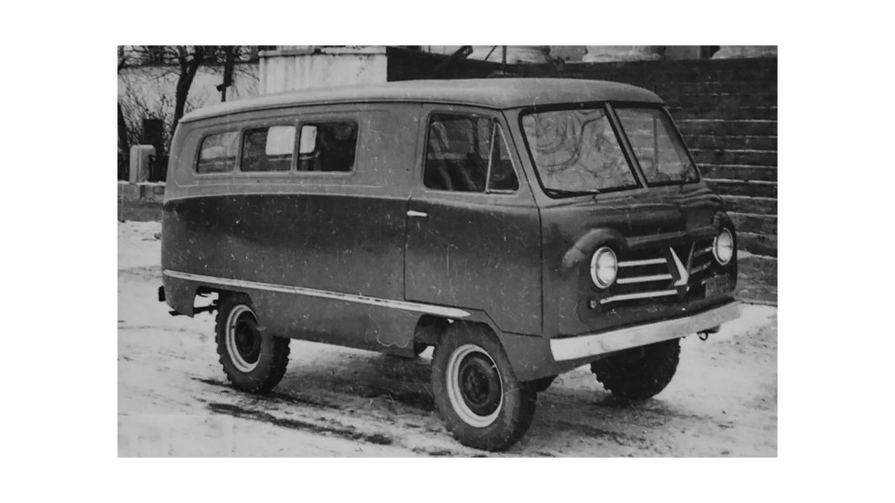 Un premier prototype de 450 avait l'air un peu différent