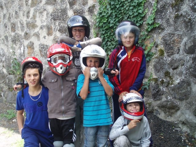 Les valeureux pilotes enfants
