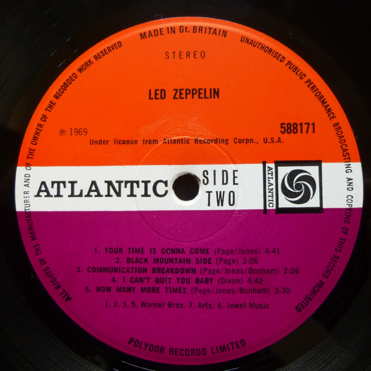 Led Zeppelin Rock Wallaby Records