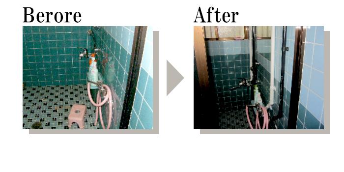 住宅1階浴室