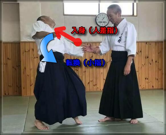 ※丹田から相手の肩や首を攻める事が重要