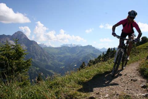 Mountainbiken im Kleinwalsertal