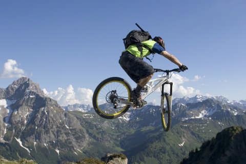 Extrem geht auch: Biken in verschiedenen Könnerstufen