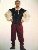 Pirat/Zigeuner  Gr.M, Fr.38.-