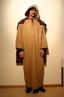 Bettler oder Mönch, Kleid mit Umhang, Fr.25.-