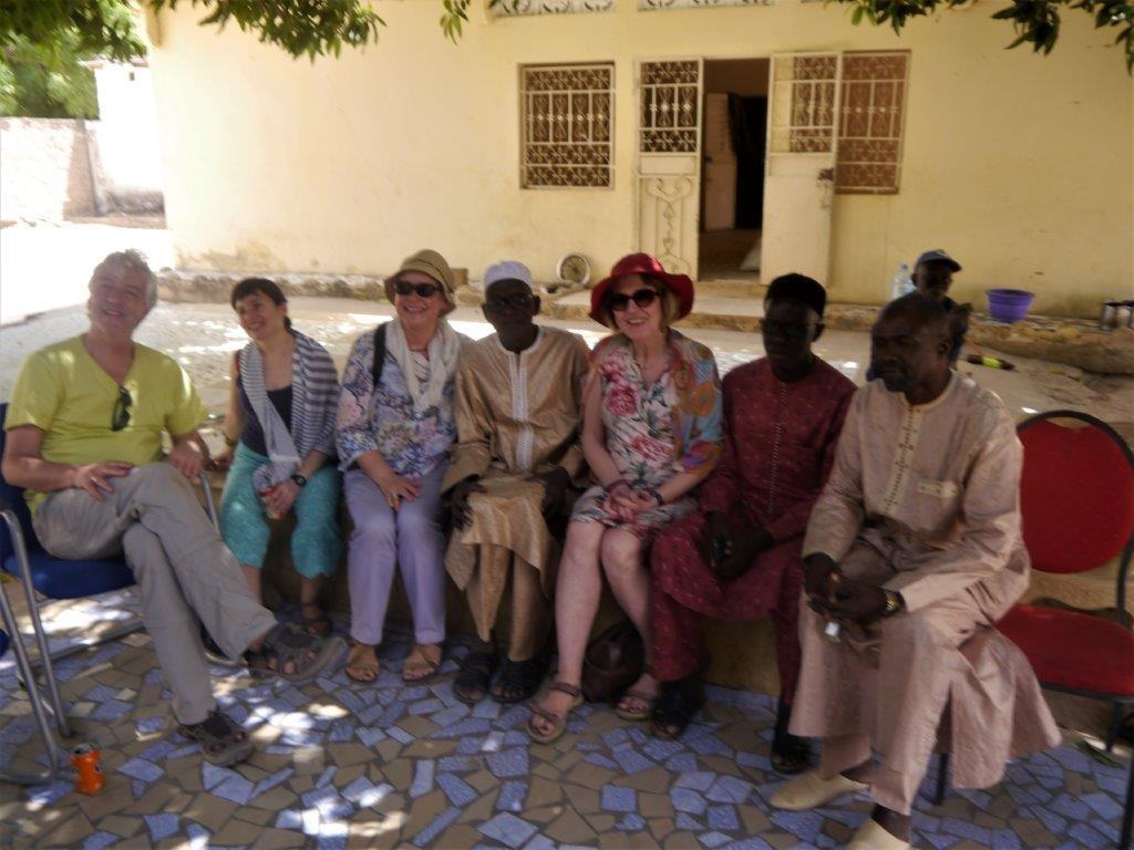 Einladung vom Dorfältesten von Keur Baka
