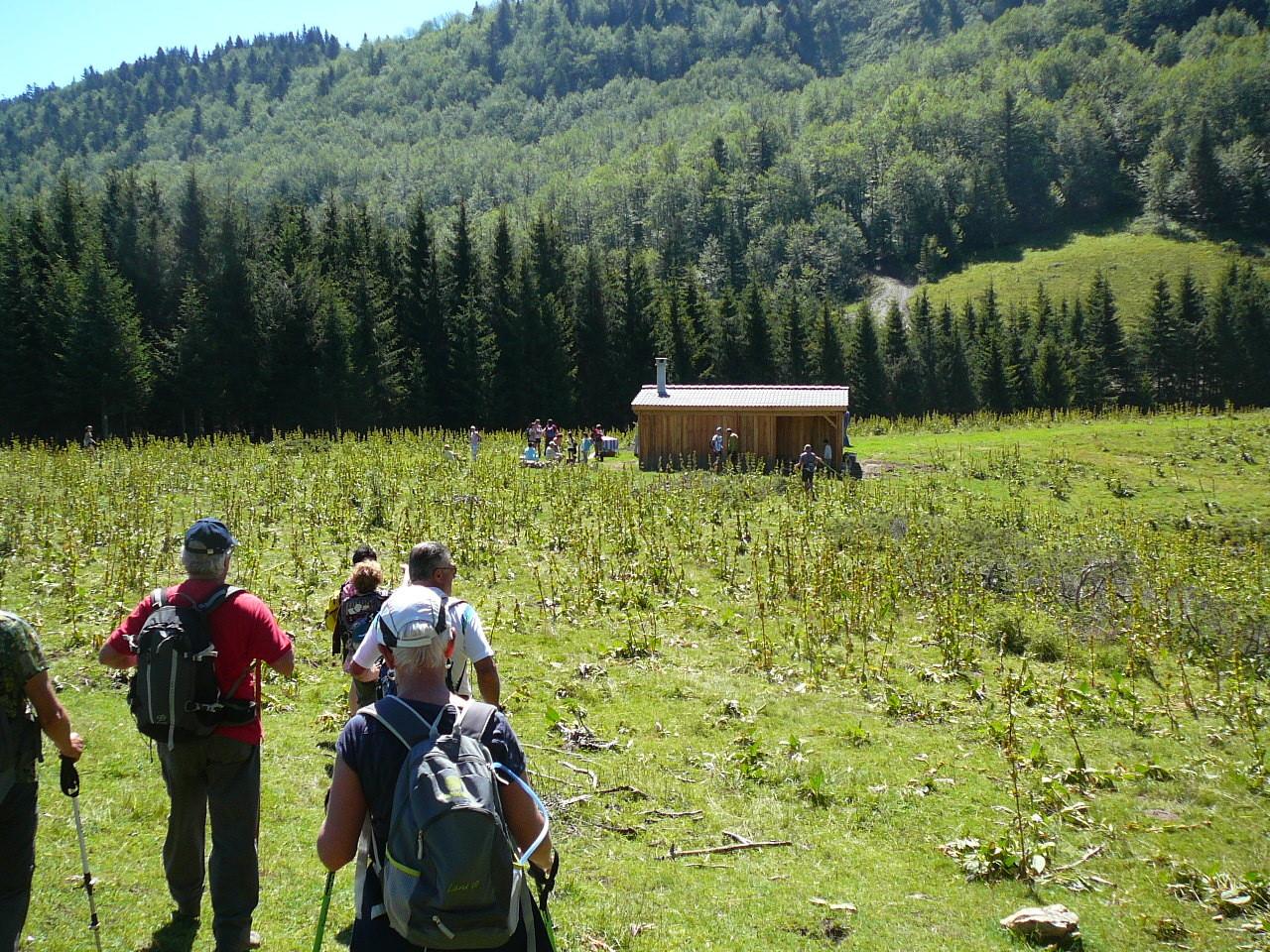 la cabane pastorale du col du Pradel