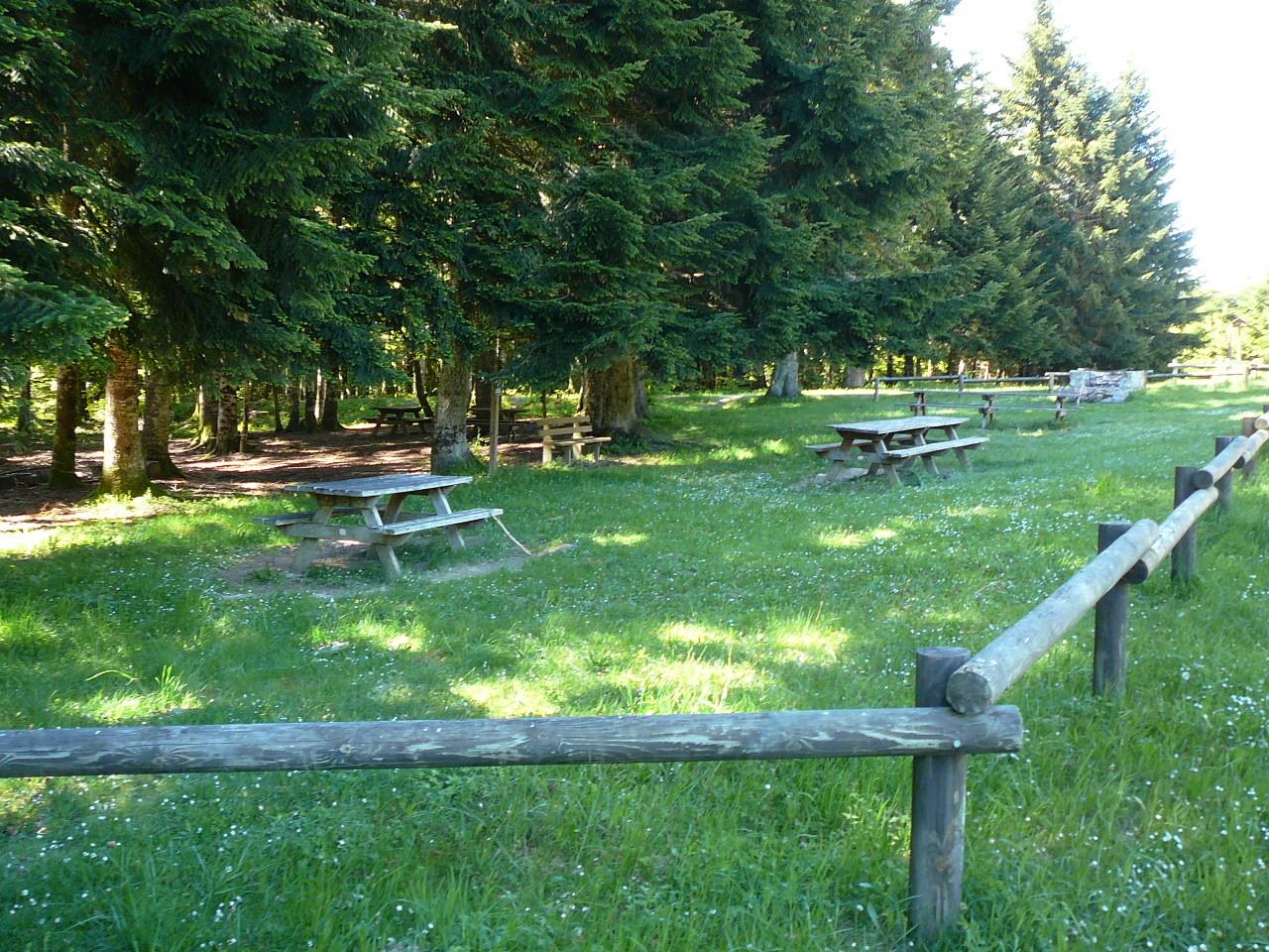 aire de la maison forestière de Callong Mirail