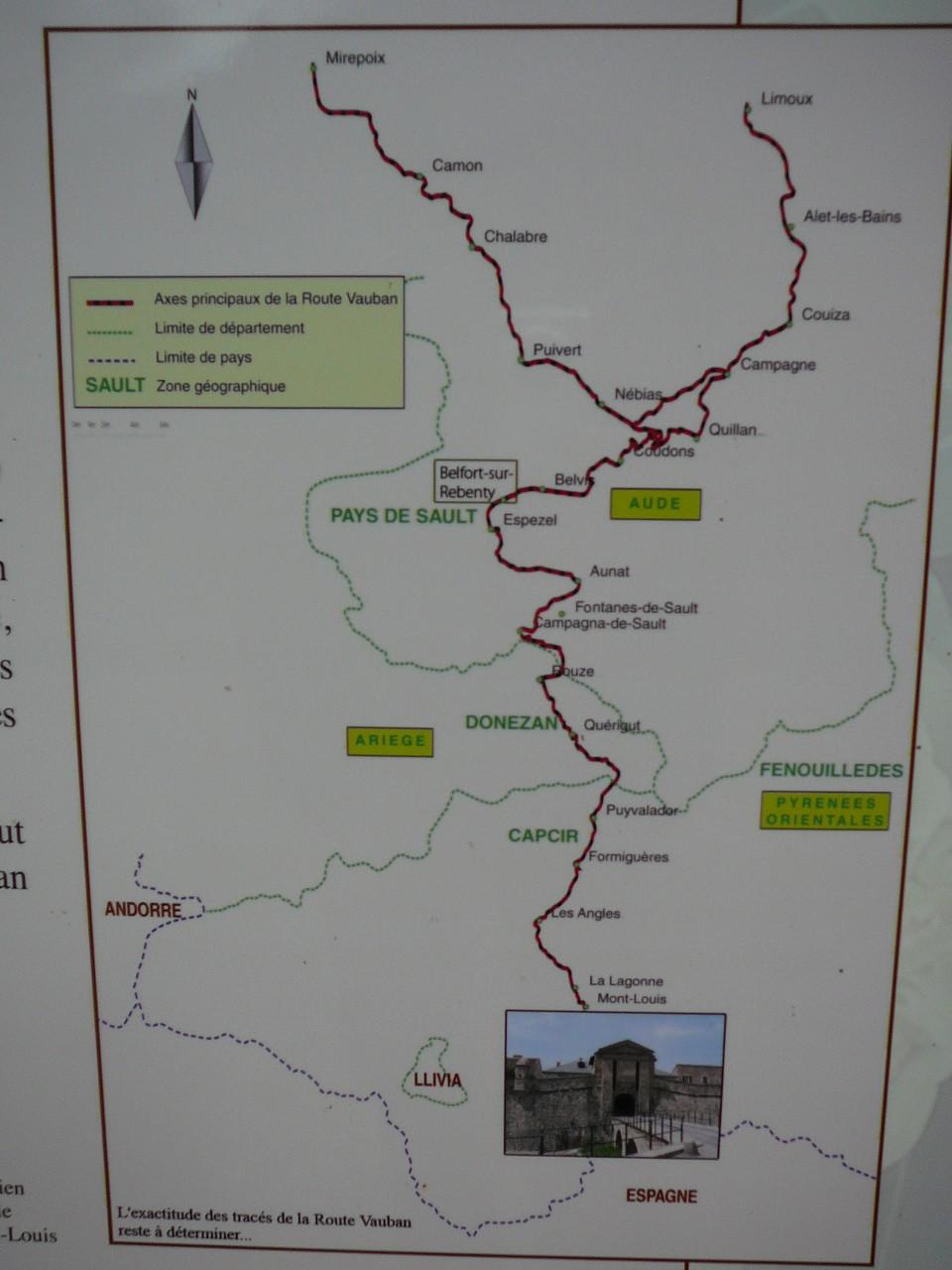 Les routes Vauban