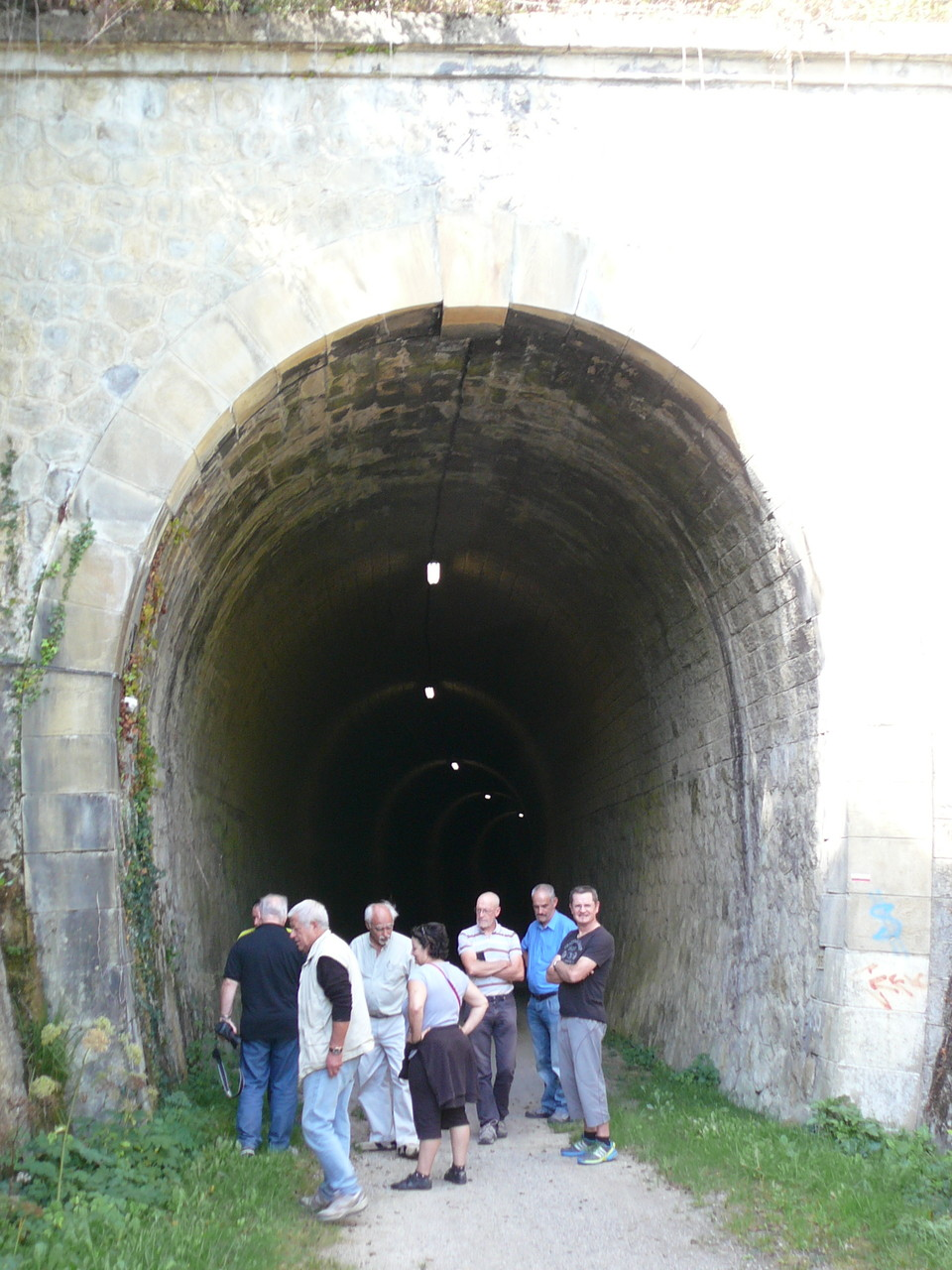 Le tunnel de Camon