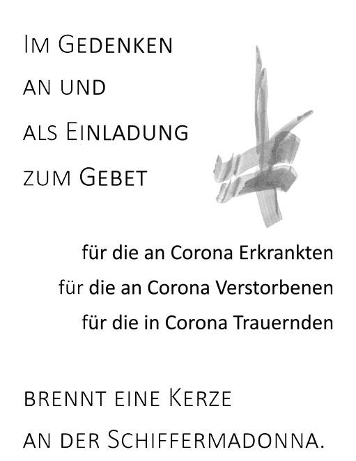 Corona Gebet Lyskirchen
