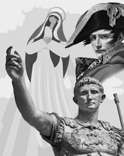 Kaiser Augustus, Maria aus Nazareth und Napoleon und der 15. August