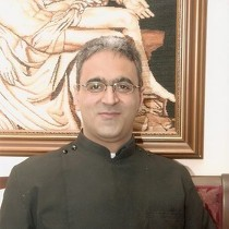 Pater Georges Aboud besucht Lyskirchen