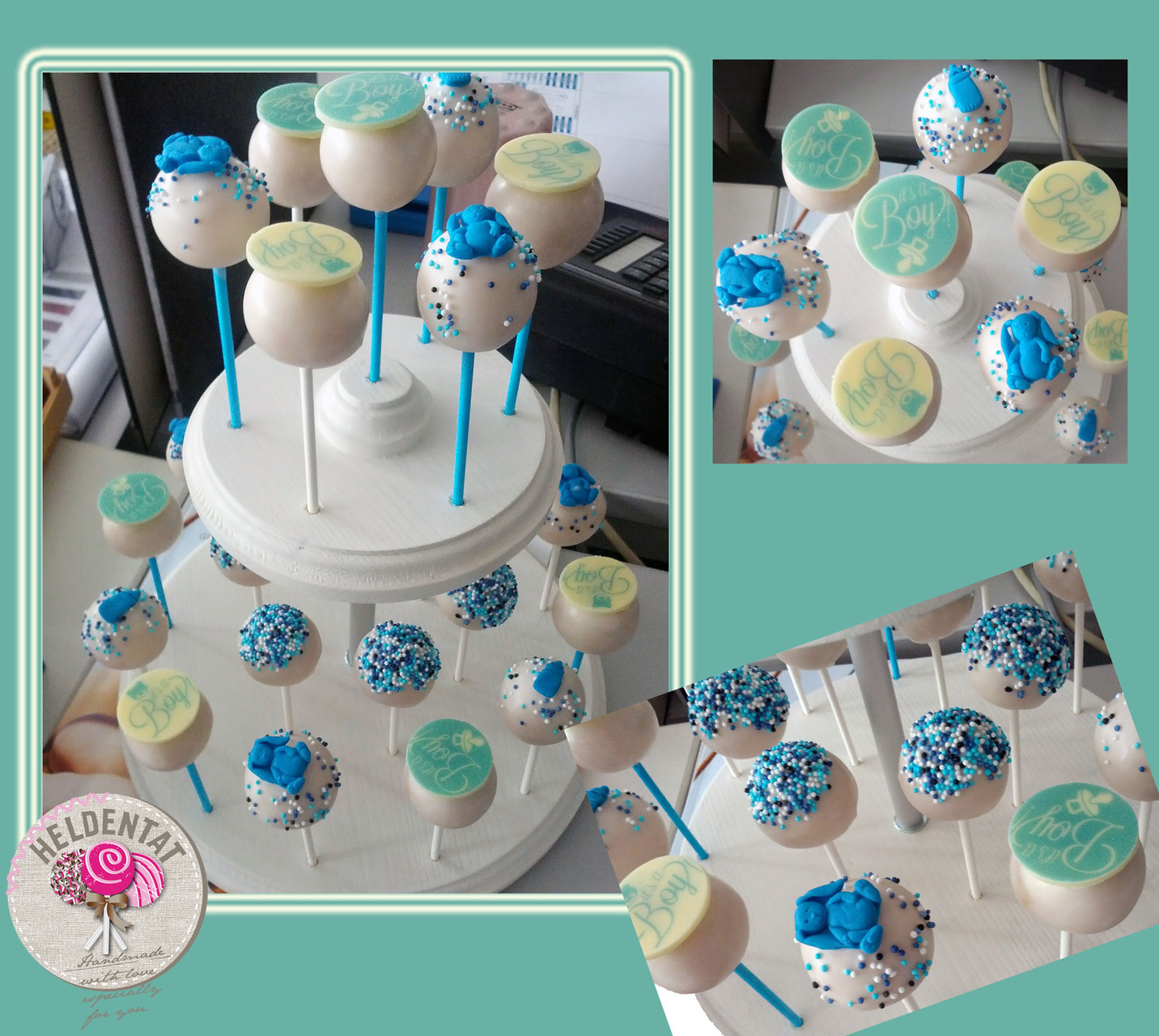 cake pops zur Babyparty
