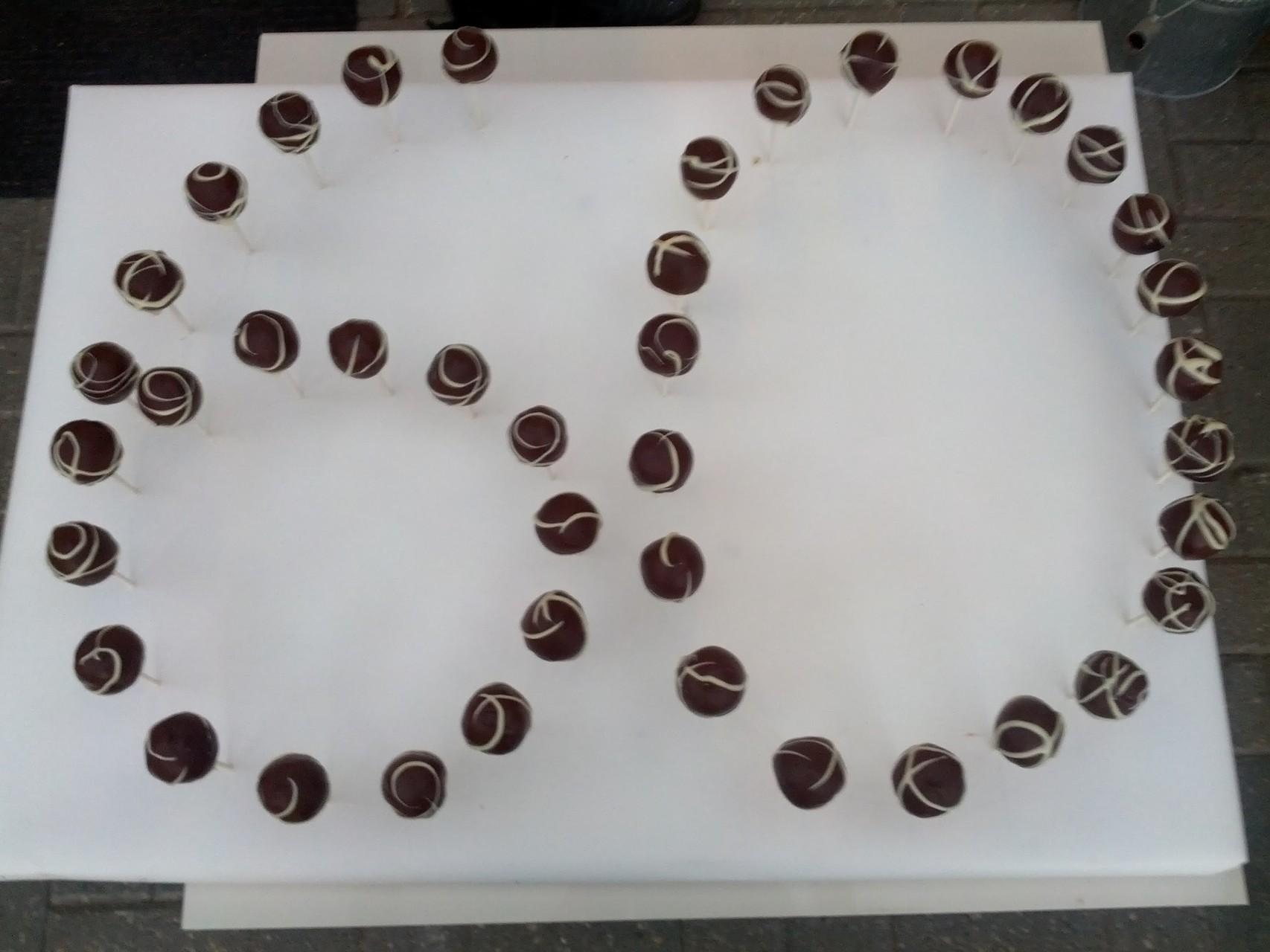 cake pops sind zu Geburtstagen ein Hingucker