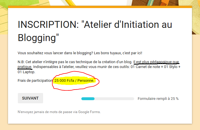 "Capture d'écran formation d'initiation au blogging offerte par ""les marches d'élodie""2"