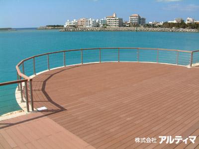 沖縄県(海岸);2006年10月設置 ; ワイヤーテンド