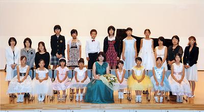内山弘美ピアノ教室の発表会