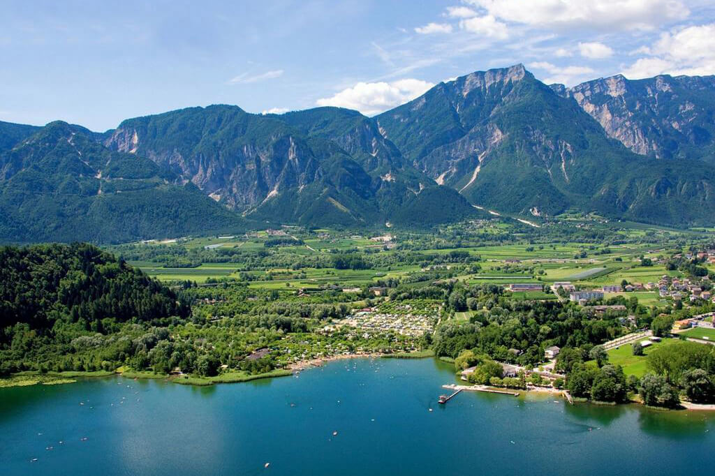 Panorama Lago di Levico