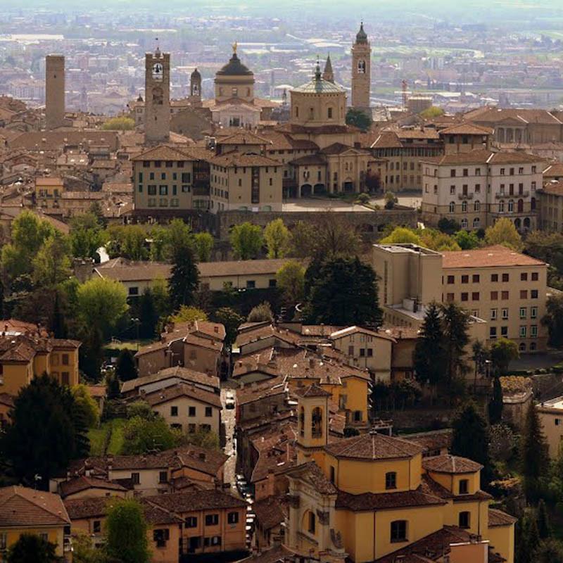 Bergamo Alto - faszinierendes Italien, mittendrin!