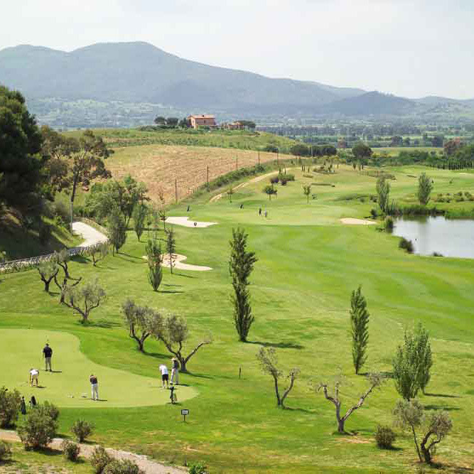 GC Toscana-Meisterschaftsplatz in der Toskana