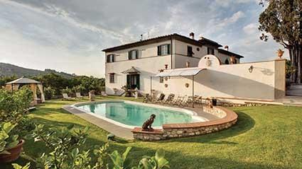 Familiengeführtes Anwesen bei Florenz mit viel Charme und zentraler Lage zum Chianti, nach Florenz runter bis Siena.