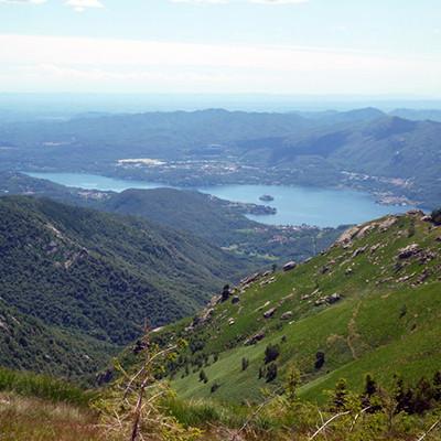 Zwischen dem Ortasee und dem Lago Maggiore
