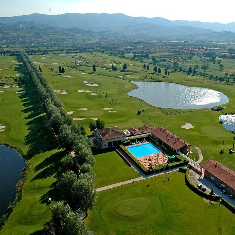 Golf Club Le Pavoniere bei Prato