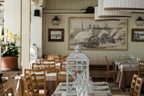 Traditionsreiches Restaurant am Meer