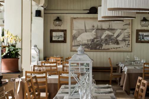 Traditionsreiches Restaurant am Meer