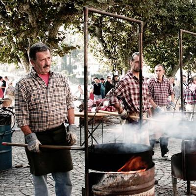 Kastanienfest in Stresa