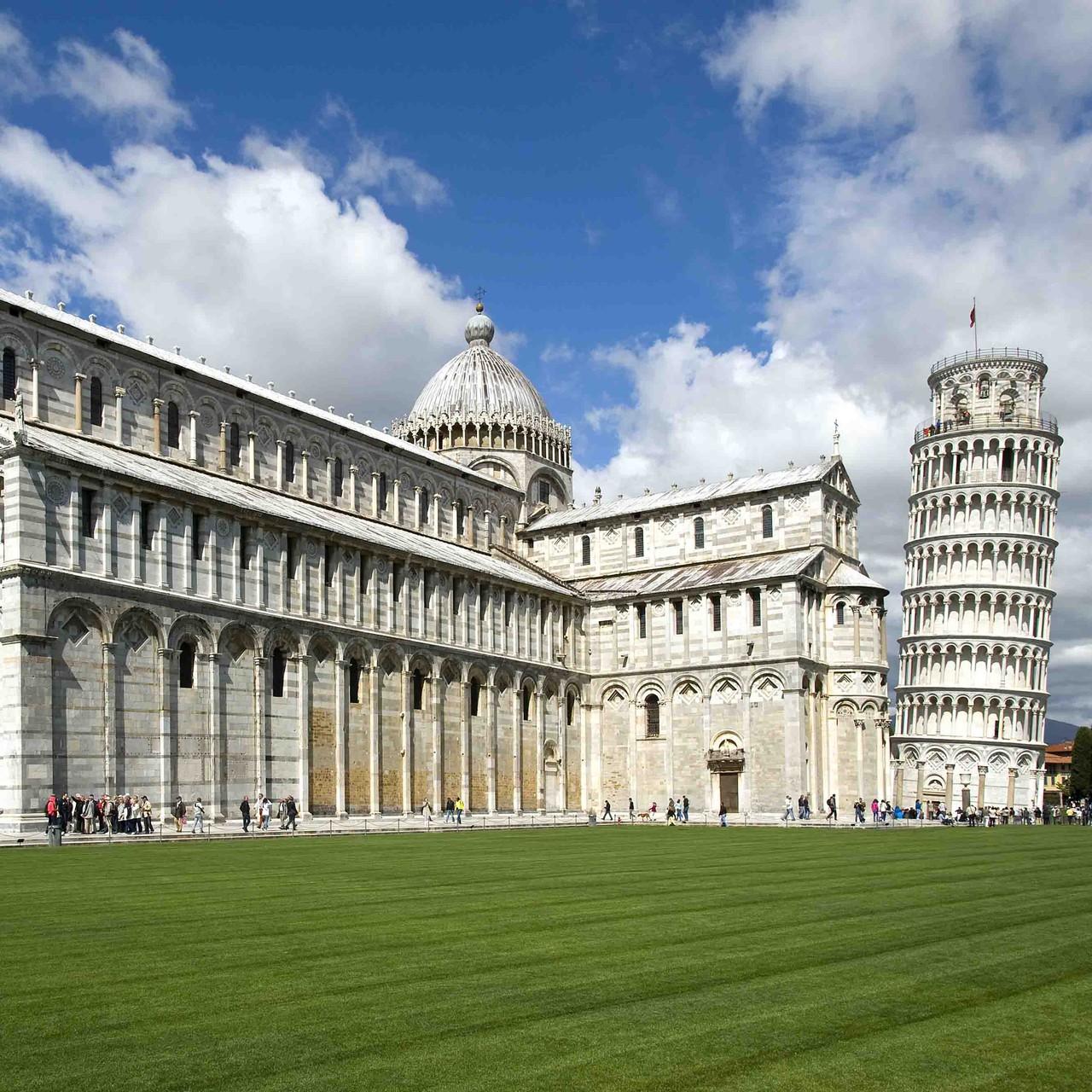 Pisa muß man gesehen haben
