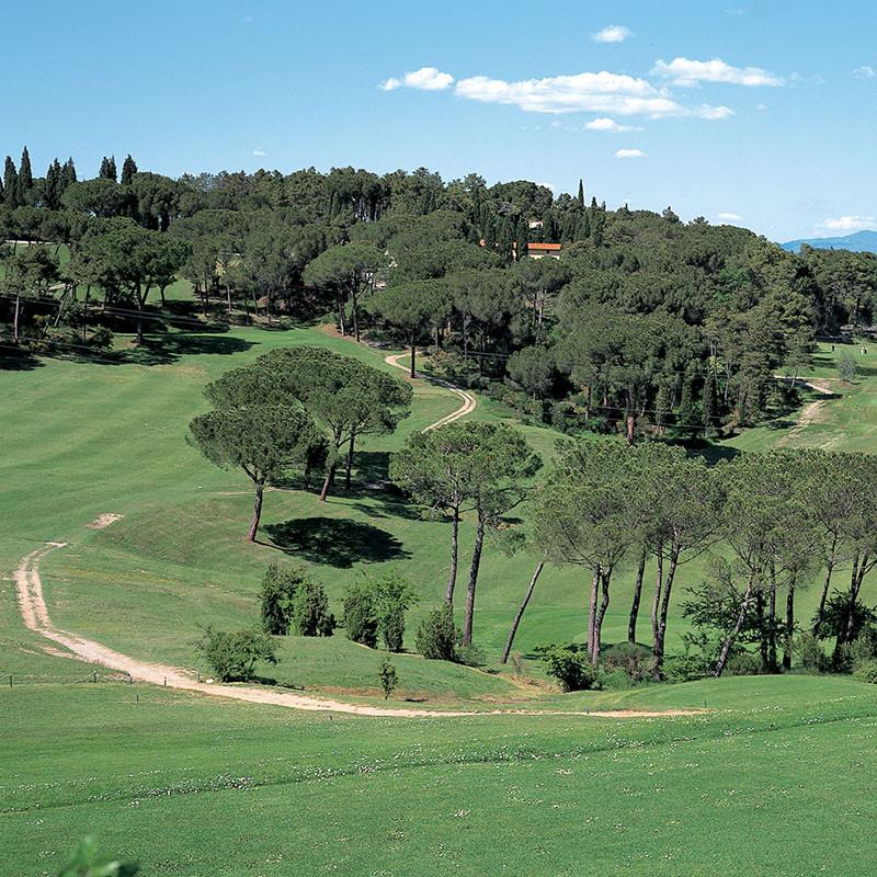 GC Ugolino-historischer Club im malerischen Chianti