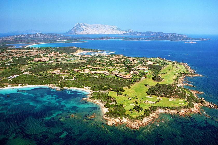 Golfplatz direkt am Meer