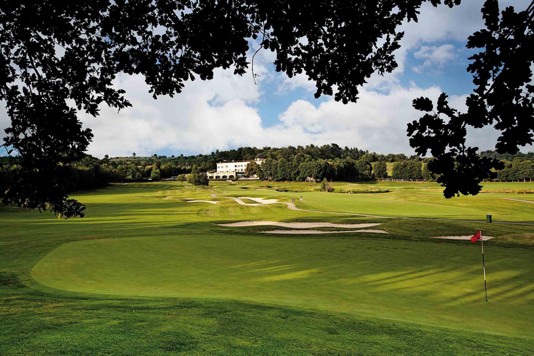 Palazzo Arzaga - ruhiges Golf Resort mit 27 Bahnen vor Ort