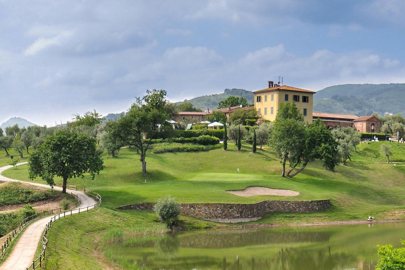 Toskana Montecatini Terme Italia Golf Tours