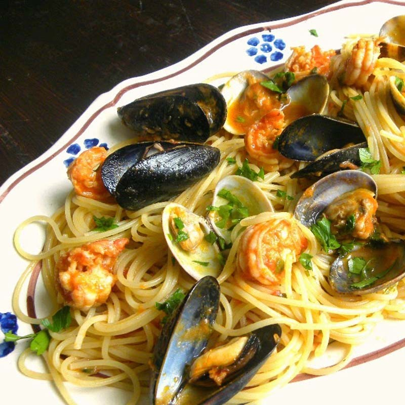 """""""Spaghetti allo scoglio""""-unwiderstehlich"""