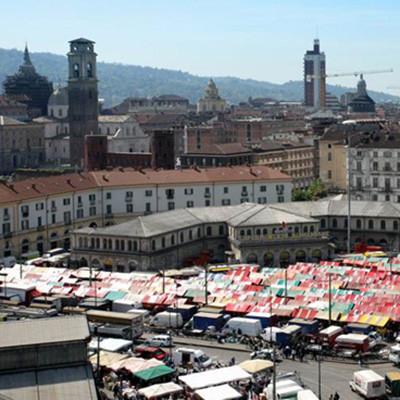 Markt Porta Palazzo-der größte Europas