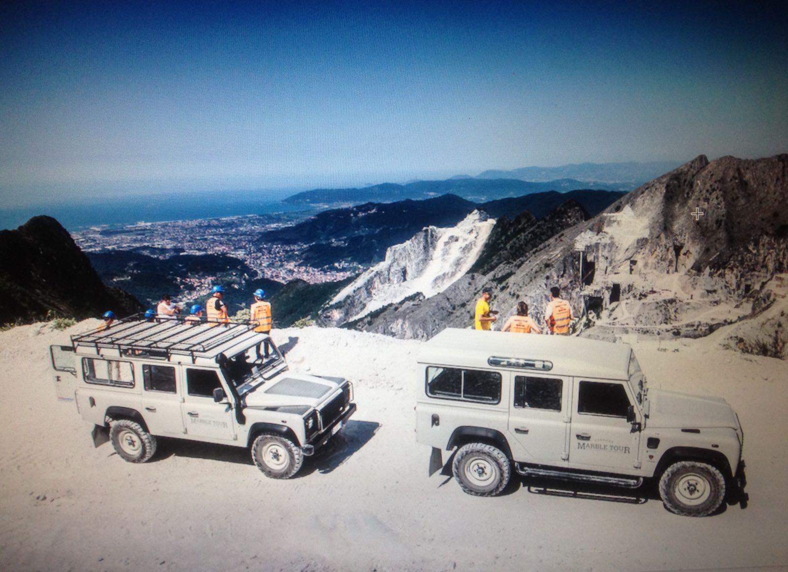 Marmor in Carrara