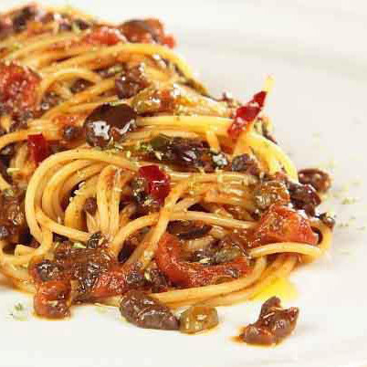 Spaghetti alla Ragusana