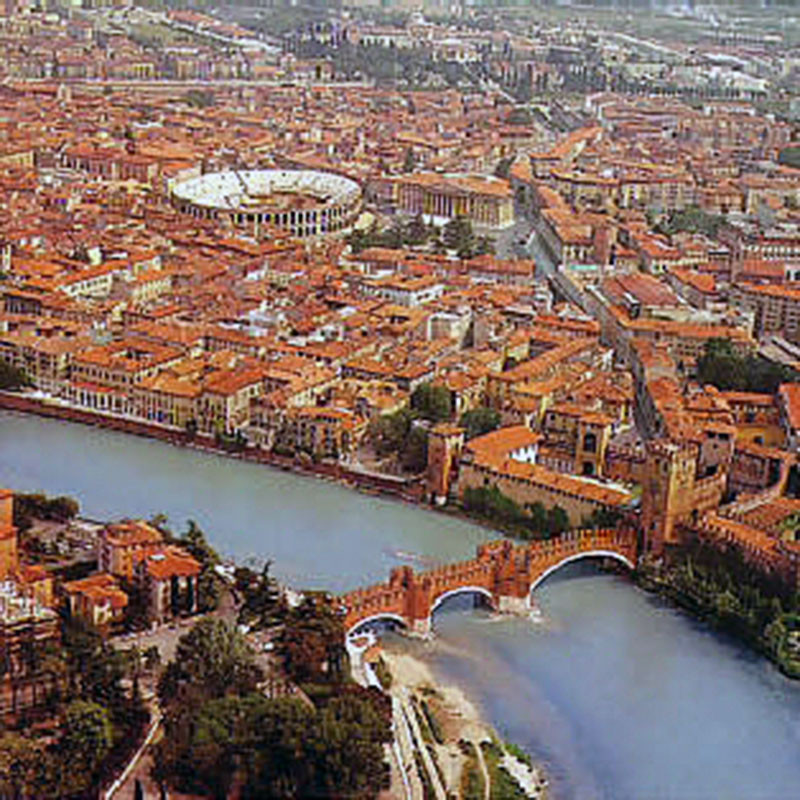 Verona ist eine der schönsten Städte...