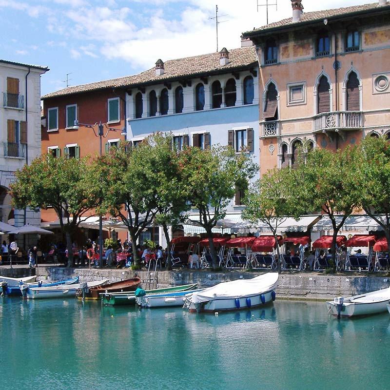 Aperitif in Desenzano ist Italien pur!