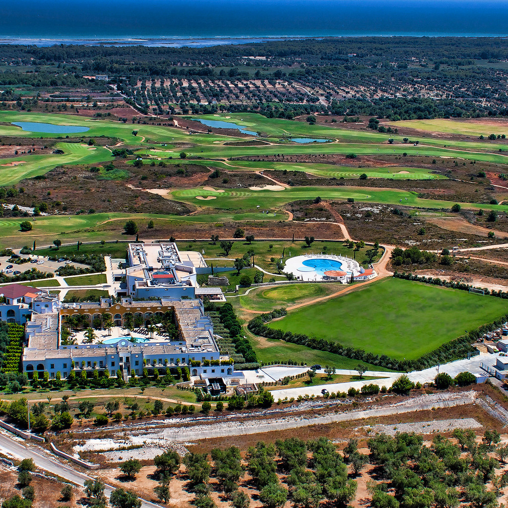 Golf, Spa, Meer-tolles Resort