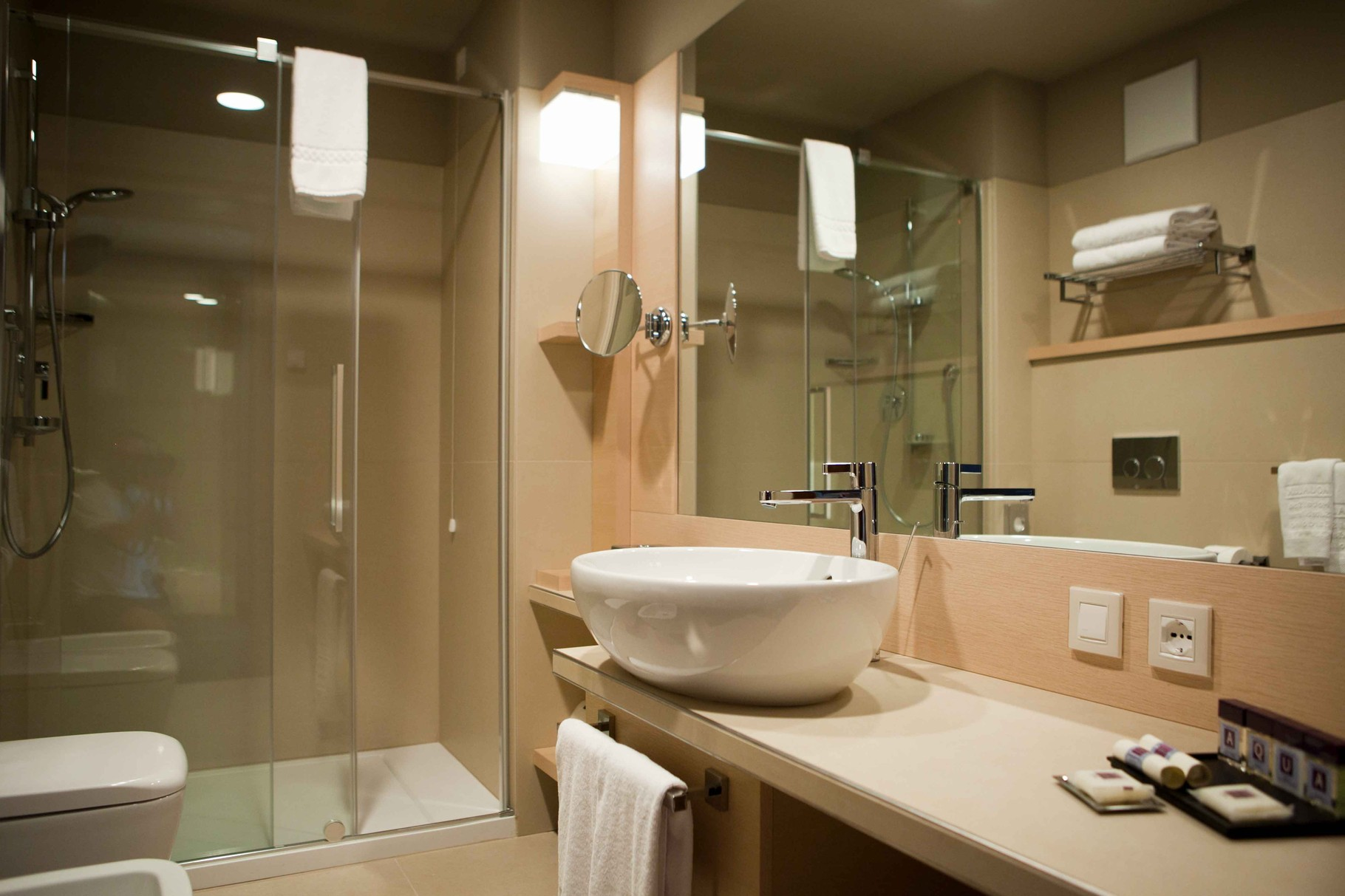 Aqualux Hotel Terme & Suite mit jeglichen Komfort ausgestattet.