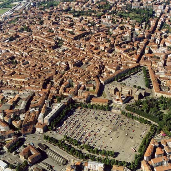 Panorama von Asti