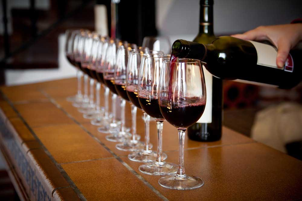 Weinproben auch für Ihre Gruppenreise
