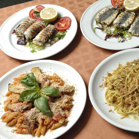 Binsenweisheit in Italien: Man ißt sehr gut in Sizilien!