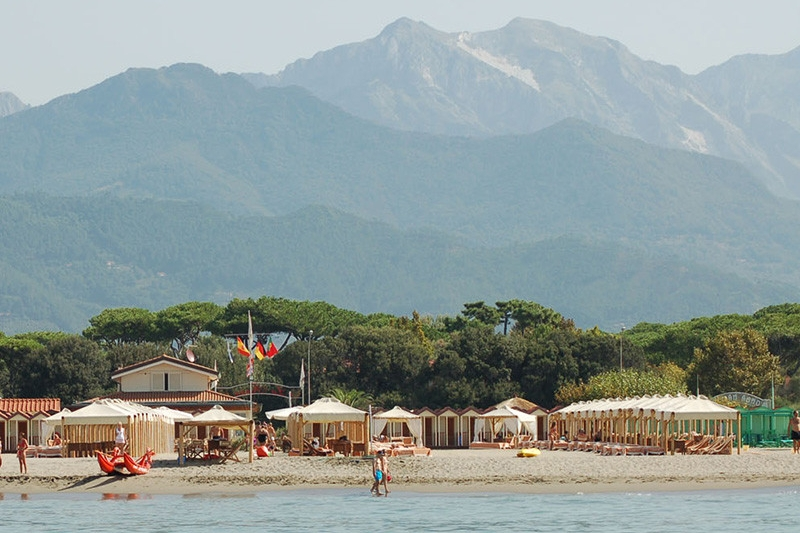 traumhaft: toskanische Riviera