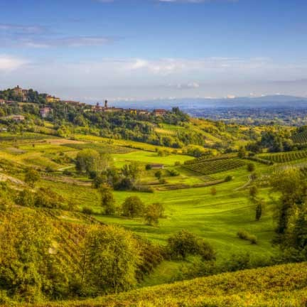Panorama des Monferrato