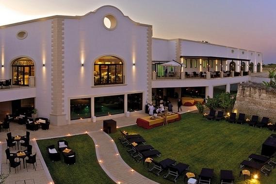 Hotel im typischem Stil der Region